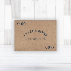 Fillet and Bone Gift Vouchers - Fillet and Bone, Gifts and Hampers, Cotswold, Fine Foods and Drink, Christmas Gifts