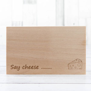 Say Cheese Chopping Board - Fillet and Bone, Gifts and Hampers, Cotswold, Fine Foods and Drink, Christmas Gifts