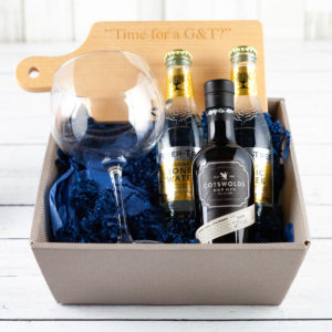 The Gin & Tonic Gift Box - Fillet and Bone, Gifts and Hampers, Cotswold, Fine Foods, Gin, Tonic, Christmas Gifts