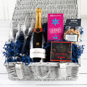 The Champagne Hamper - Fillet and Bone, Gifts and Hampers, Cotswold, Fine Foods, Champagne