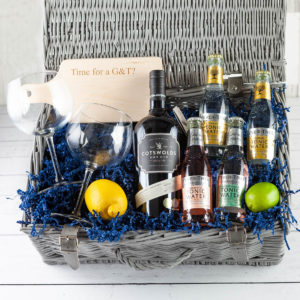 The Cotswold Gin Hamper - Fillet and Bone, Gifts and Hampers, Cotswold, Fine Foods and Drink, Christmas Gifts